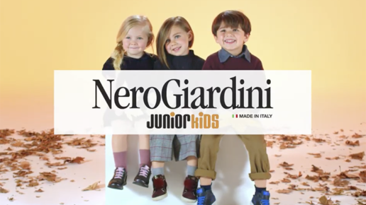 nero giardini junior a/i 2018 foglie valerio ferrario dop direttore della fotografia cinematographer